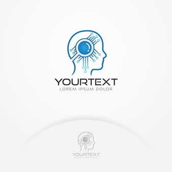 Logo d'intelligence artificielle