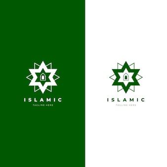 Logo islamique en deux couleurs