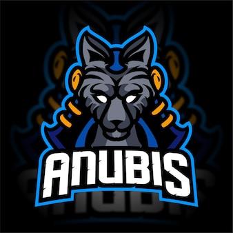 Logo de jeu anubis esport