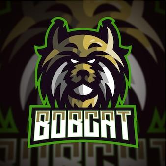 Logo de jeu bobcat esport
