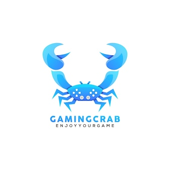 Logo de jeu de crabe