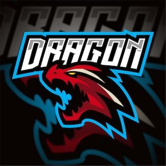 Logo de jeu dragon esport