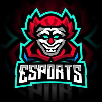 Logo de jeu esport clown