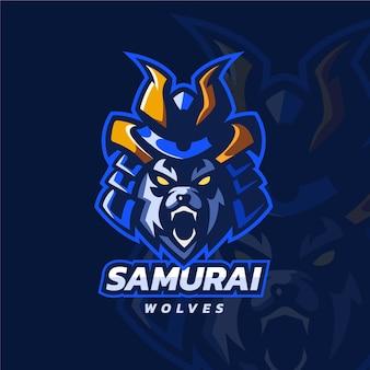 Logo de jeu esport détaillé