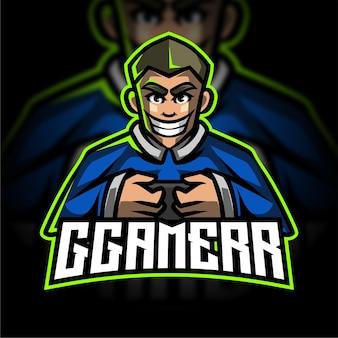 Logo de jeu esport pour joueur mobile