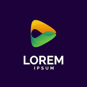 Logo de jeu de médias