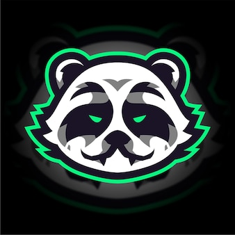 Logo de jeu panda esport