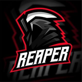 Logo de jeu reaper e sport