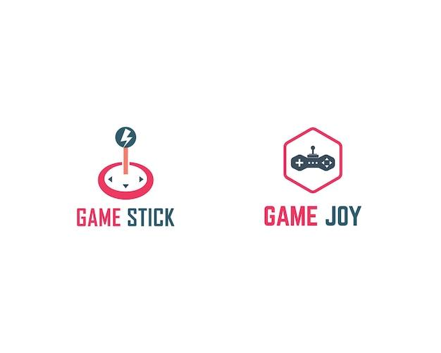 Logo de joystick de jeu