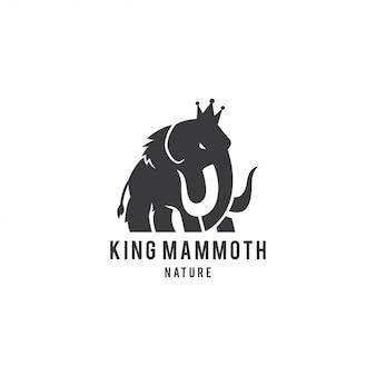 Logo king mammoth
