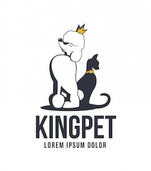 Logo king pet