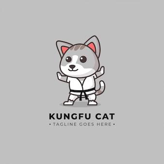 Logo de kung fu chat