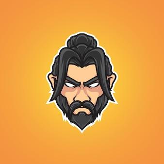 Logo kung fu master e sport
