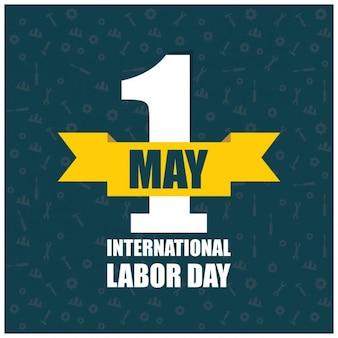 Logo labor day affiche