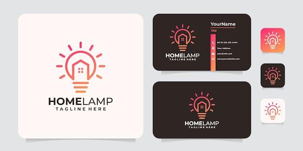 Logo de la lampe à la maison
