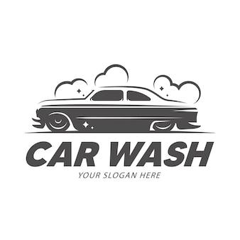 Logo de lavage de voiture.