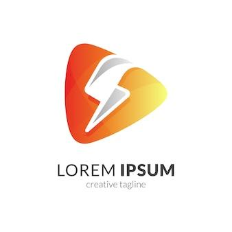 Logo de lecture multimédia flash