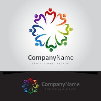 Logo de lettre community m