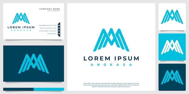 Le logo de la lettre a forme un oiseau abstrait