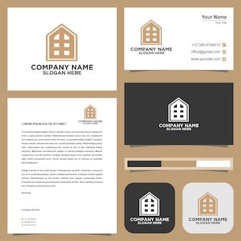 Logo lettre immobilier