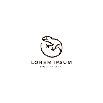 Logo de lézard