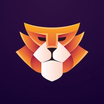 Logo lion dynamique