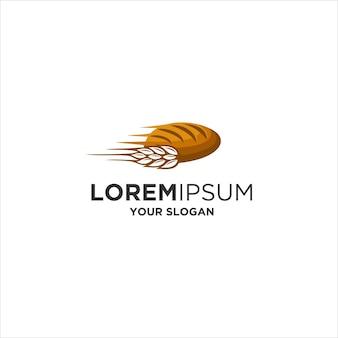Logo de livraison de boulangerie de restauration rapide