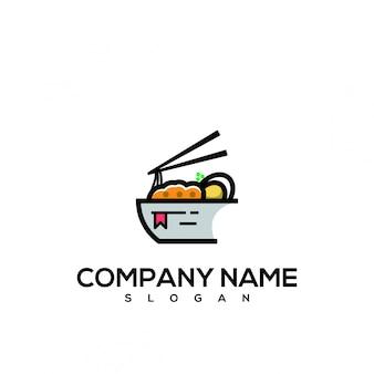 Logo de livre de nouille
