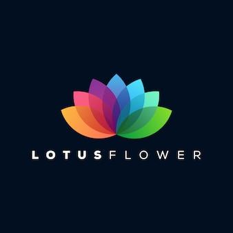 Logo lotus prêt à l'emploi
