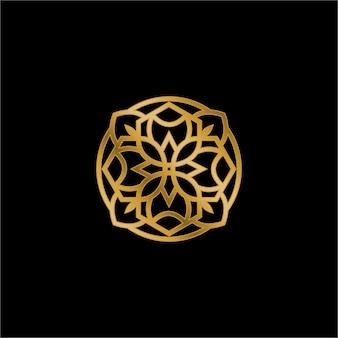 Logo luxueux