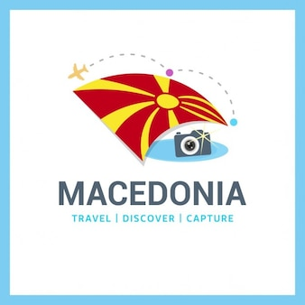 Logo macédoine voyage
