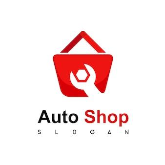 Logo de magasin d'outils de technicien