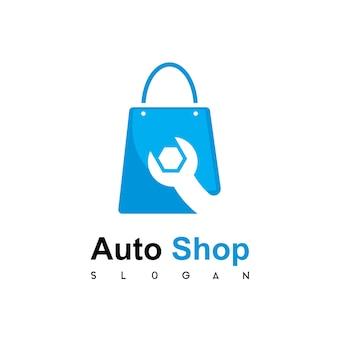 Logo de magasin de technicien