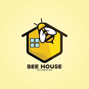 Logo de la maison de l'abeille