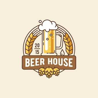 Logo de la maison de la bière