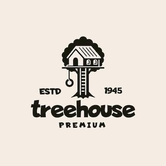 Logo de la maison dans les arbres