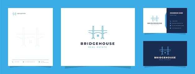 Logo de la maison du pont