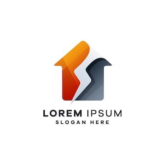 Logo de la maison éclair