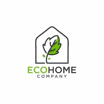 Logo maison éco