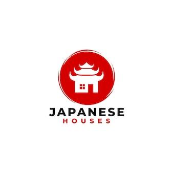 Logo de la maison japonaise pour la société immobilière.