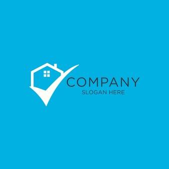 Logo de la maison et liste de contrôle