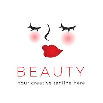 Logo maquillage beauté maquillage
