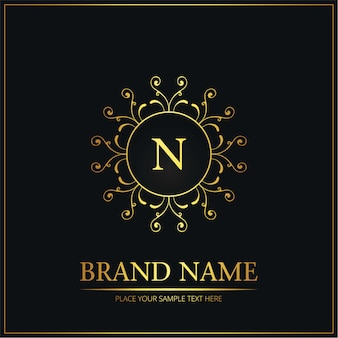Logo de mariage créatif