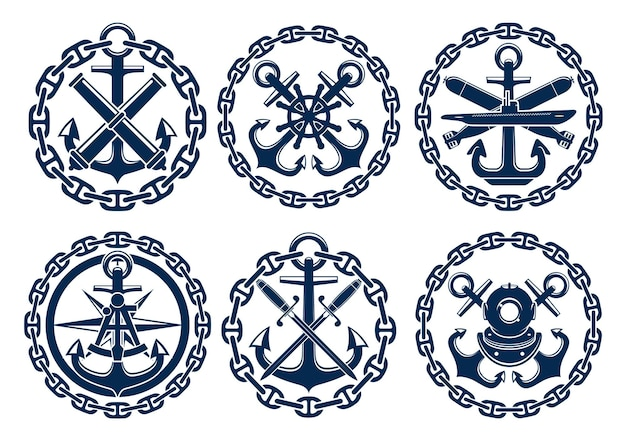 Logo marin et nautique