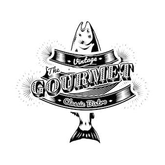 Logo marin vintage