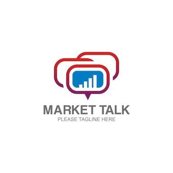 Logo market talk