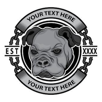 Logo de la marque de vêtements pour chiens
