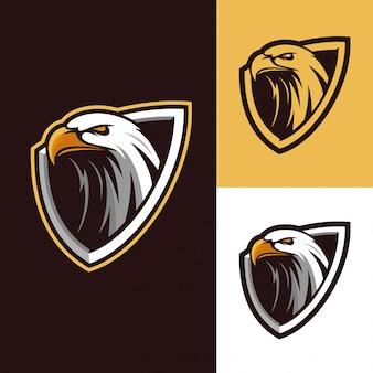 Logo mascotte aigle