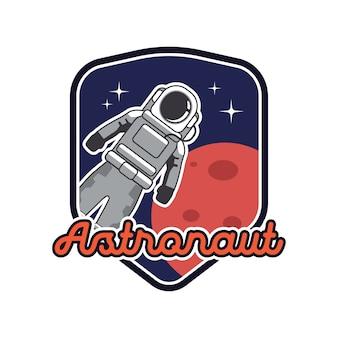 Logo de la mascotte des astronautes.