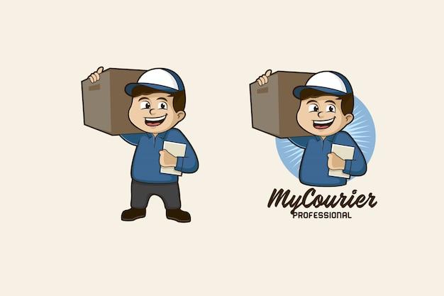 Logo mascotte courrier